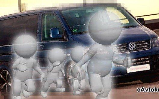 Грузопассажирские автомобили Volkswagen Transporter