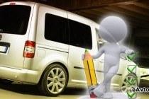 Автомобили класса компактвэн Volkswagen Caddy для перевозок