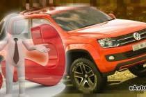 Большой внедорожник Volkswagen Amarok – пикап для отдыха