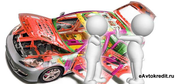 Низкокачественный ремонт автомобиля